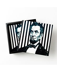 COASTER BOX SET ABE LINCOLN