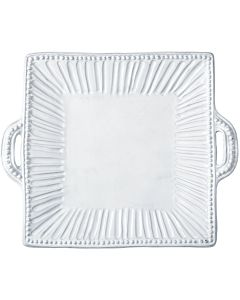 INCANTO STRIPE PLATTER SQ