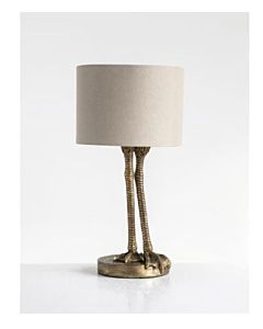 LAMP BIRD LEGS GOLD