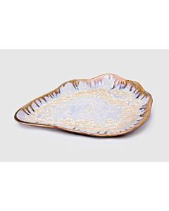 PEARL OYSTER PLATE MEDIUM