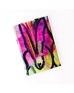 SCARF WILD COLORFUL BUNNY